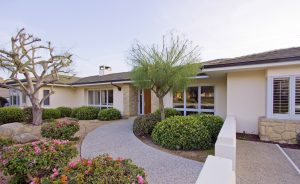 porch, front walk way, front yard, rancho san anotnio, 93110 zip code, santa barbara, montecito, hope ranch, home for sale in santa barbara, sb realtor
