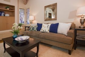 santa barbara montecito, living room, family room, entertaining room, custom built family room, real estate