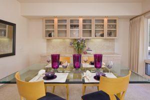 montecito house, montecito real estate, santa barbara, dinning room, custom montecito home,