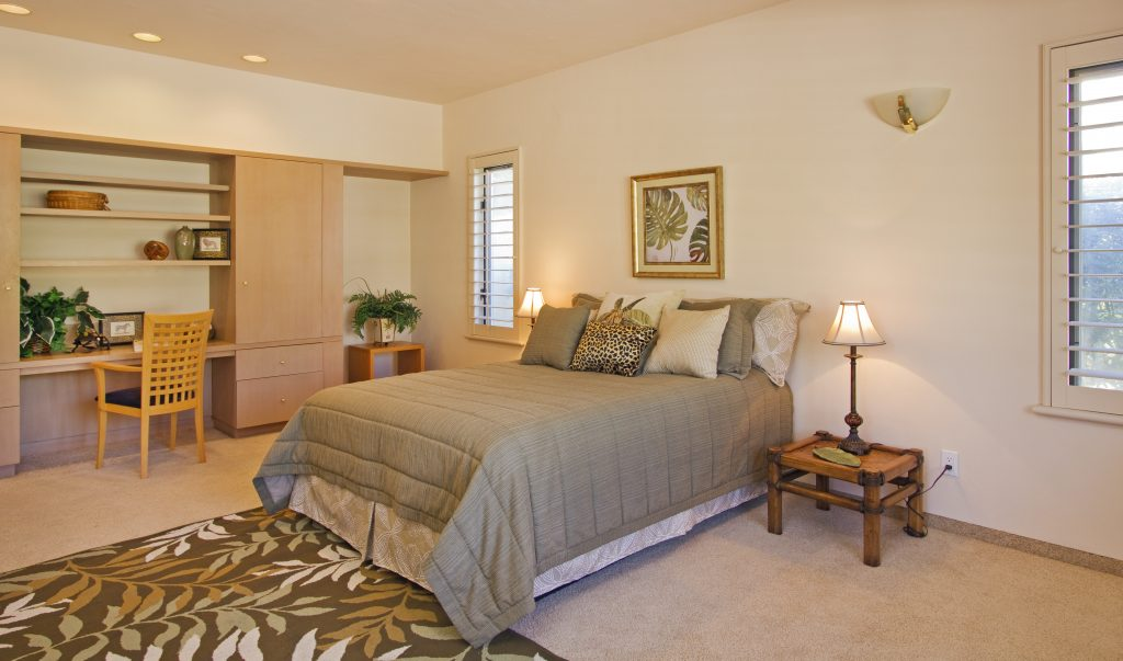 custom cabinets, luxury bedroom, real estate, santa barbara home, top realtor in sb,