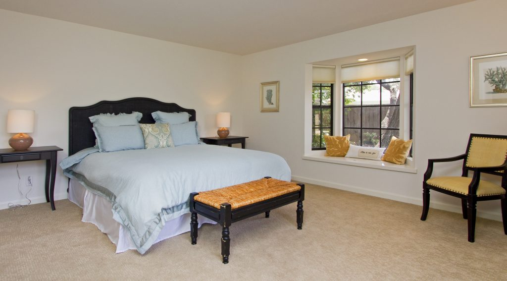 master bedroom, open floor plan, 3bd, bedroom addation, montecito real estate, montecito realtor, santa barbara realtor