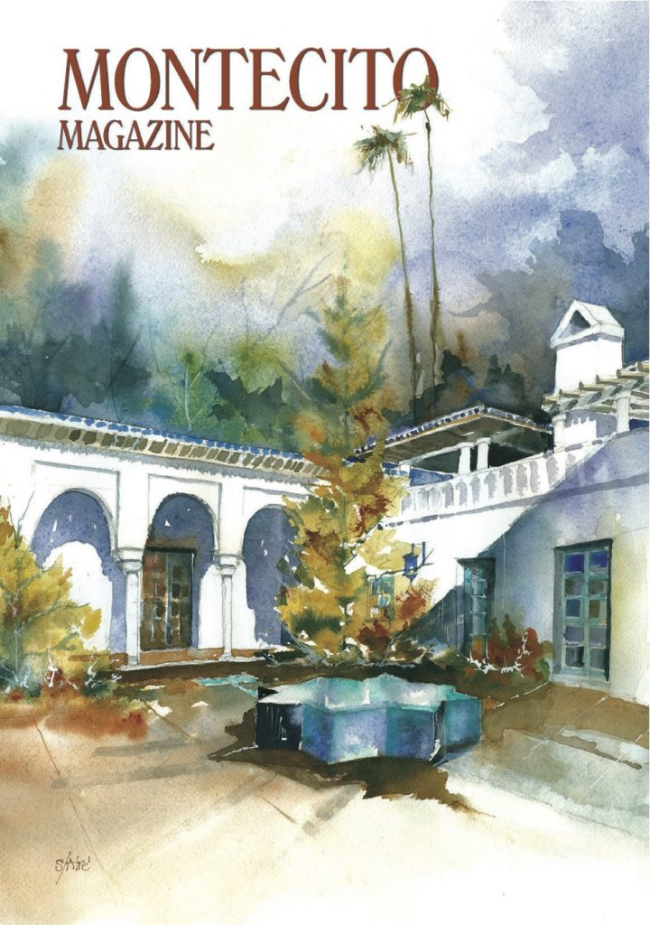Montecito, Montecito Magazine, Montecito real estate interview, Montecito magazine manzo business article, real estate in montecito, cover page