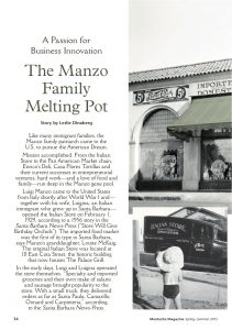 Montecito magazine, feature article, louise mckaig, santa barbara history, the italian store, pan american markets