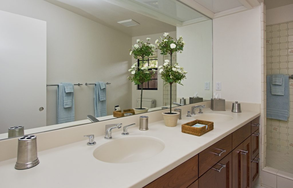 bathroom santa barbara, custom sinks, renovated, architecture sb, santa barbara montecito real estate