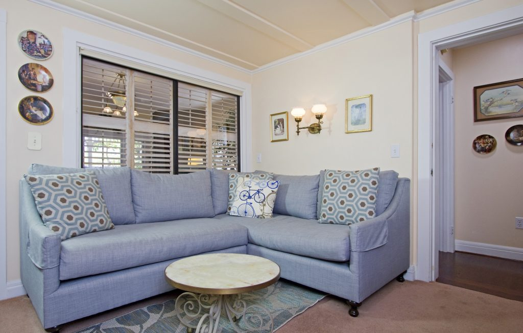 living room, couch, guests, entertain, real estate, Montecito, Santa Barbara, Village Properties
