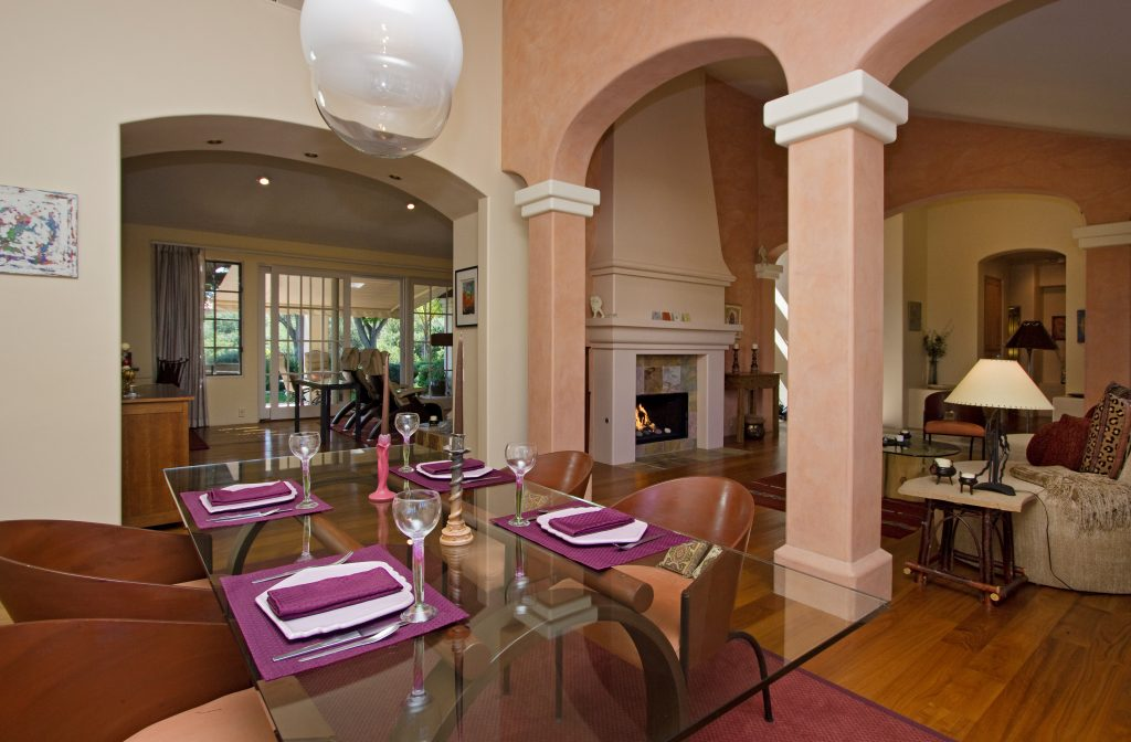 real estate, Santa Barbara, Montecito, luxury, entertain, living area