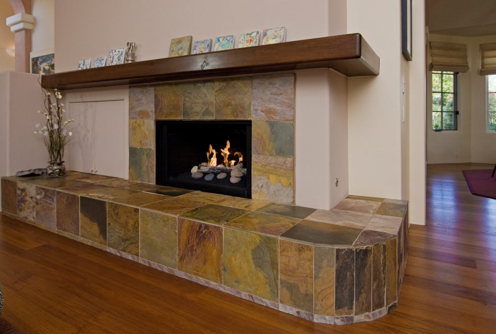 custom design, santa barbara fireplace, montecito fireplace