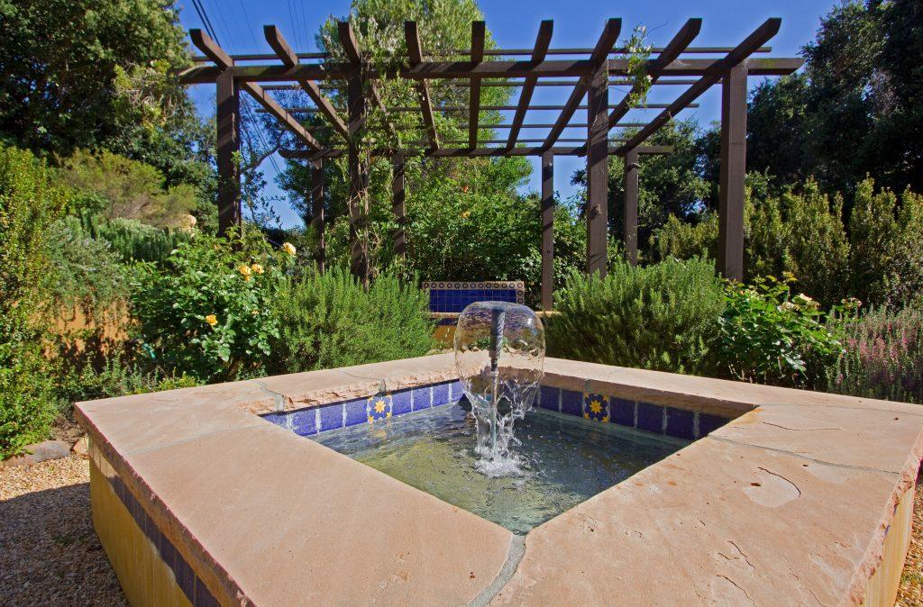 Santa Barbara fountain, property for sale in santa barbara, montecito real estate