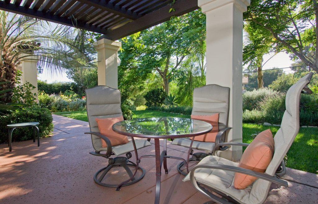 porch, luxury porch, santa barbara real estate agent