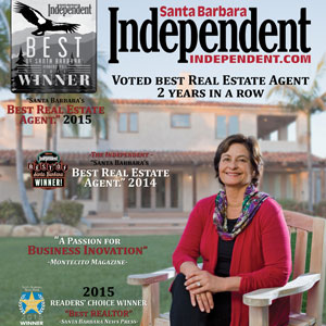 santa barbara's best real estate agents, luxury real estate montecito, best of montecito, best of santa barbara, sb independent,
