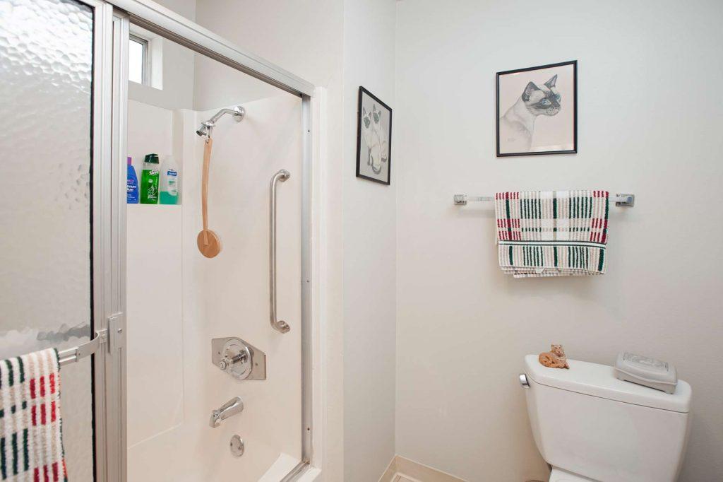 condo, bathroom, santa barbara bathroom, condo bathroom
