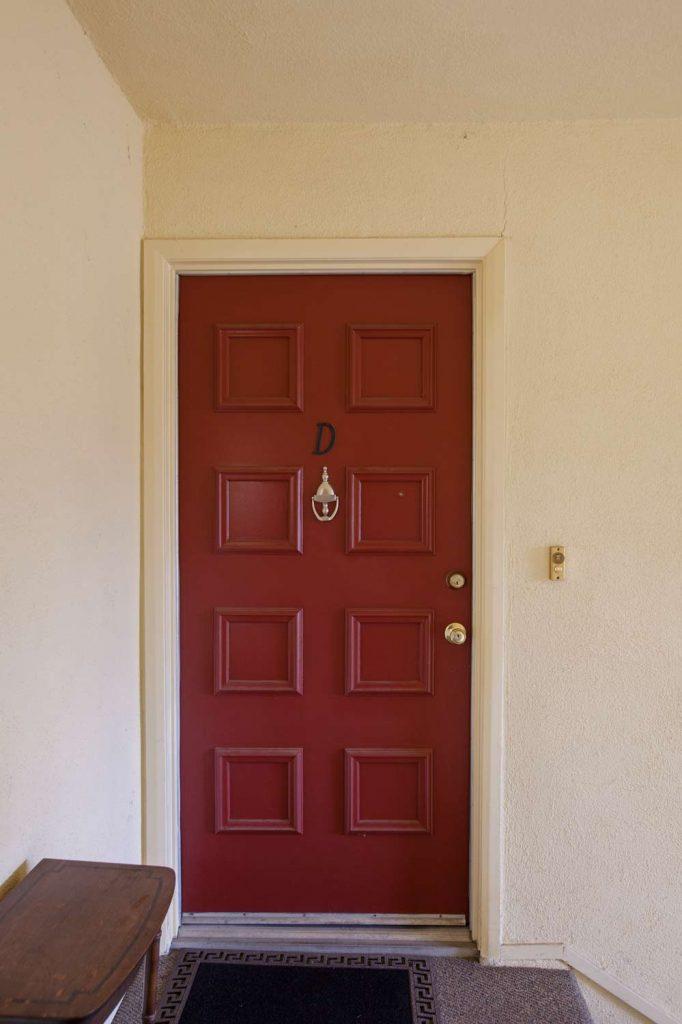 condo front door, condo door,