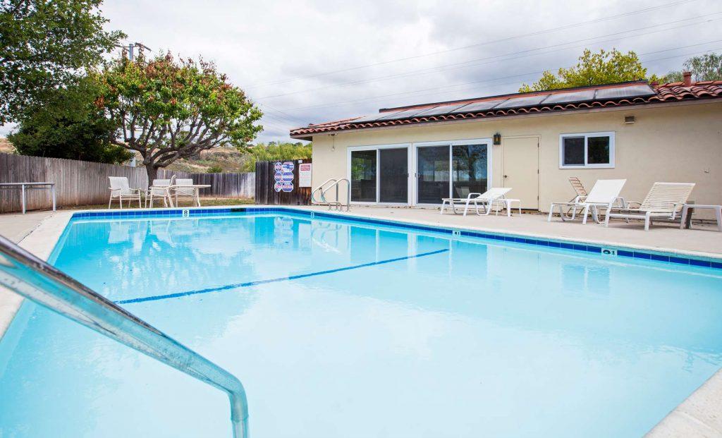 pool, pool view, poolside, santa barbara pools, pool house, condo pool,