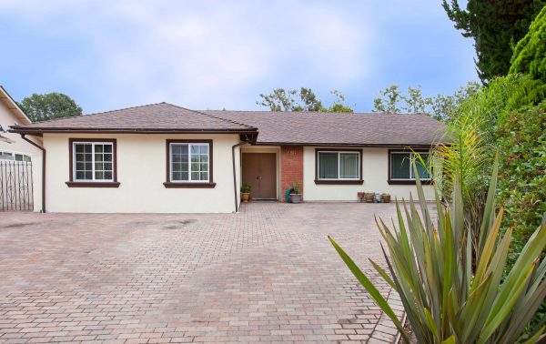 front of house, for sale, Santa Barbara