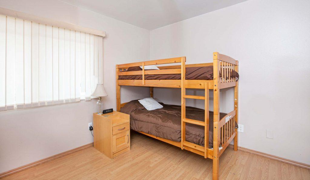 Bedroom #3, bunk beds