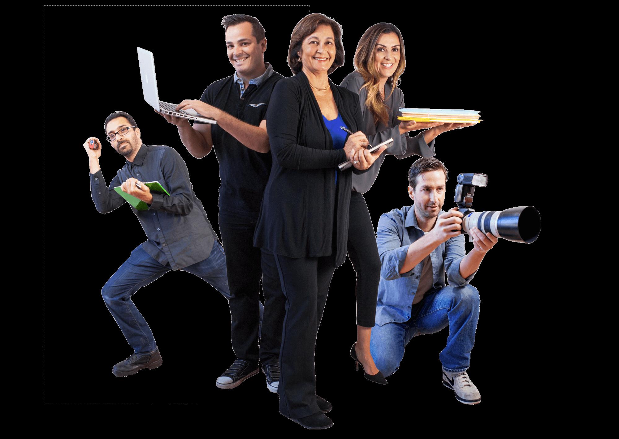 Real Estate Team Photo of Award Winning Real Estate Agents at Keller Williams Realty Santa Barbara