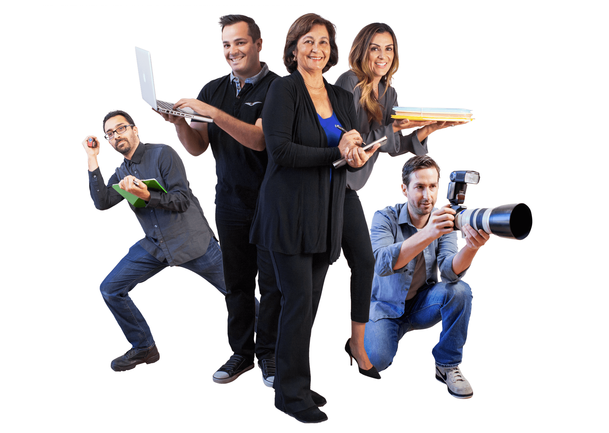 Real-Estate Agents Team-Photo near Santa-Barbara Montecito Goleta