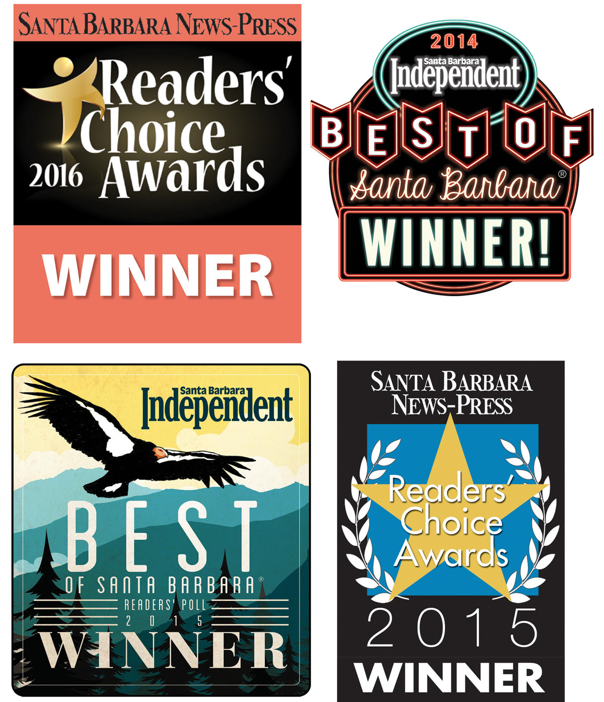 voted best realtor in santa barbara award