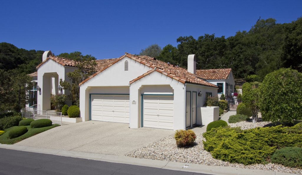 gated community, santa barbara cul-de-sac, front yard, front of house, burb appeal