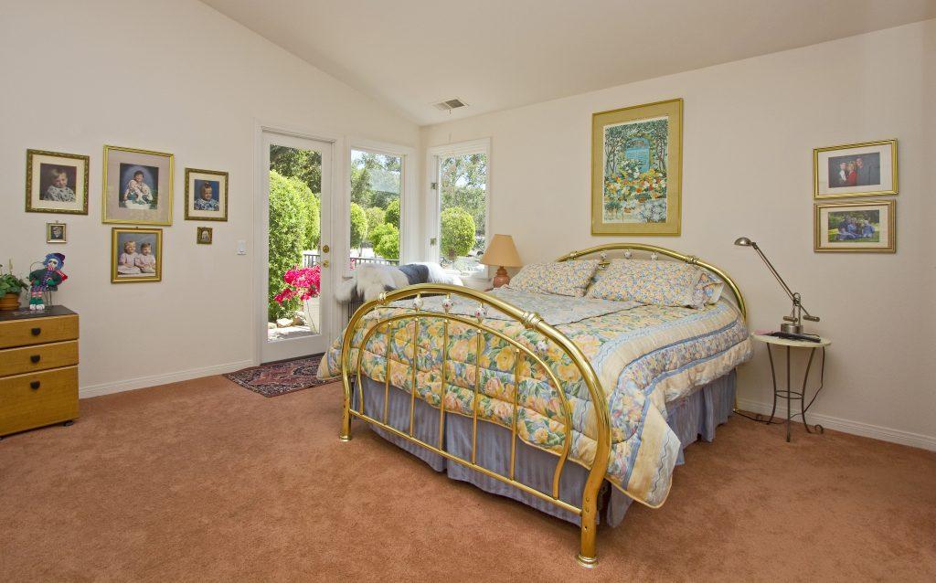 luxury home, bedroom, real estate, hope ranch, santa barbara homes,