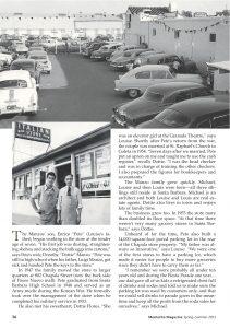 The Italian store santa barbara, montecito magazine, santa barbara business history, santa barbara history, louise mckaig, manzo family,