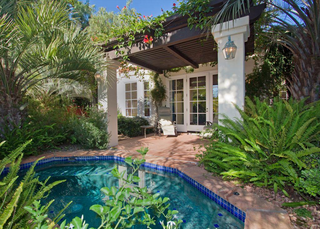 santa barbara luxury life, santa barbara spa, outdoor spa, custom spa design ideas