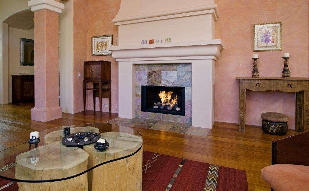 hardwood floors, santa barbara floors, fireplace, santa barbara fireplace, montecito fireplace,