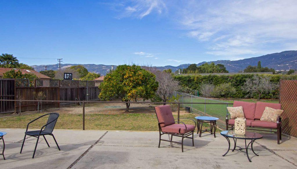 beautiful views, mountain views, santa barbara views, outside house in santa barbara