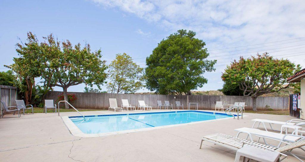 condo pool area, santa barbara pool, pool condo, santa barbara pool and condo,