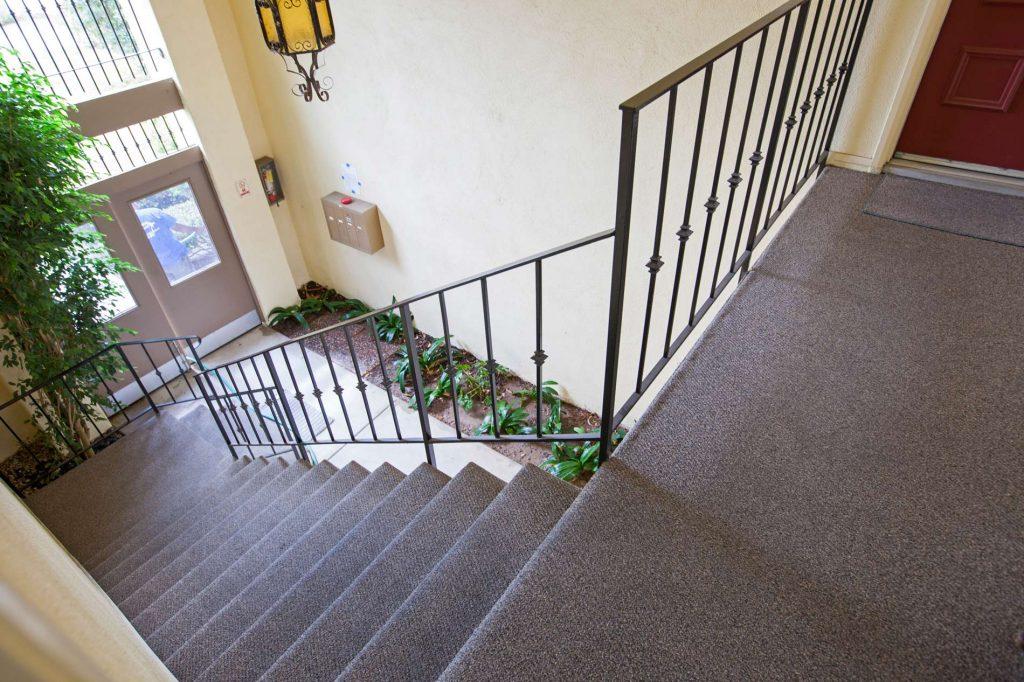stairs to condo, stairs in santa barbara, santa barbara steps