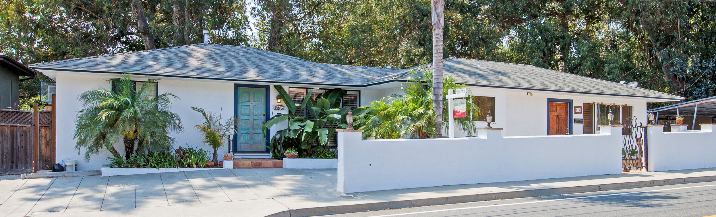 Downtown Santa Barbara Duplex at 114-116 W Alamar